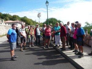 rencontre entre le club de Saint André Du Puy et les Randonneurs des Boutières